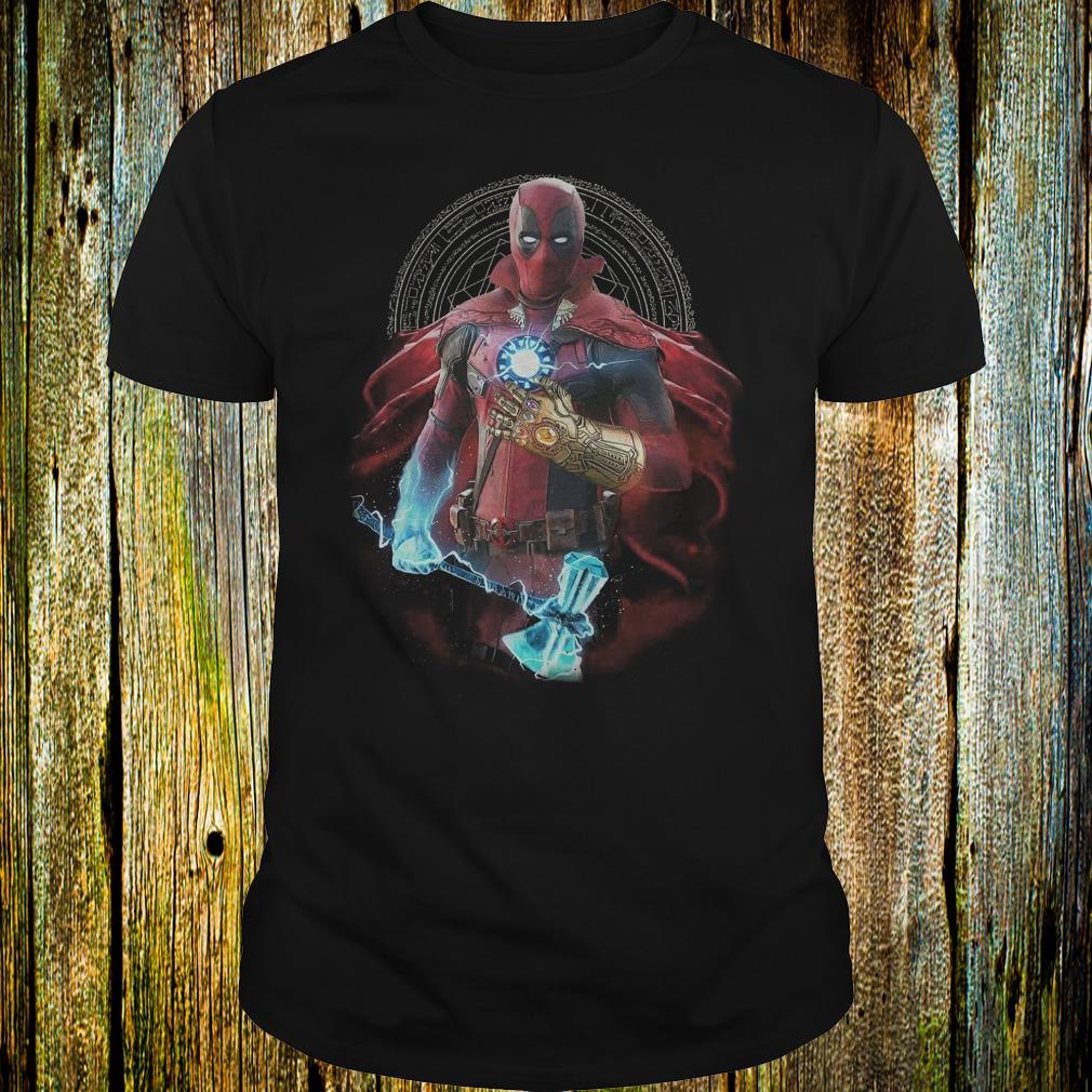 Premium Mashup Deadpool Doctor Strange Iron Man Thanos Thor Avengers Infinity  War shirt 83e3f083f