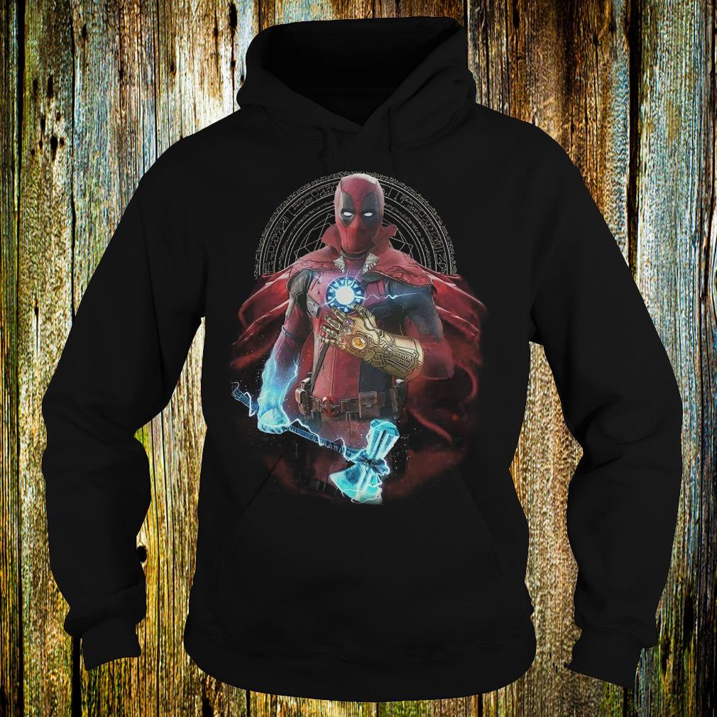 Premium Mashup Deadpool Doctor Strange Iron Man Thanos Thor Avengers Infinity  War shirt Hoodie b6f700c9d