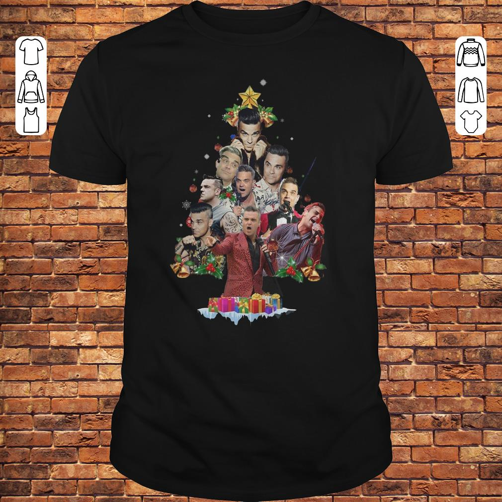 Robbie Williams Christmas Tree shirt