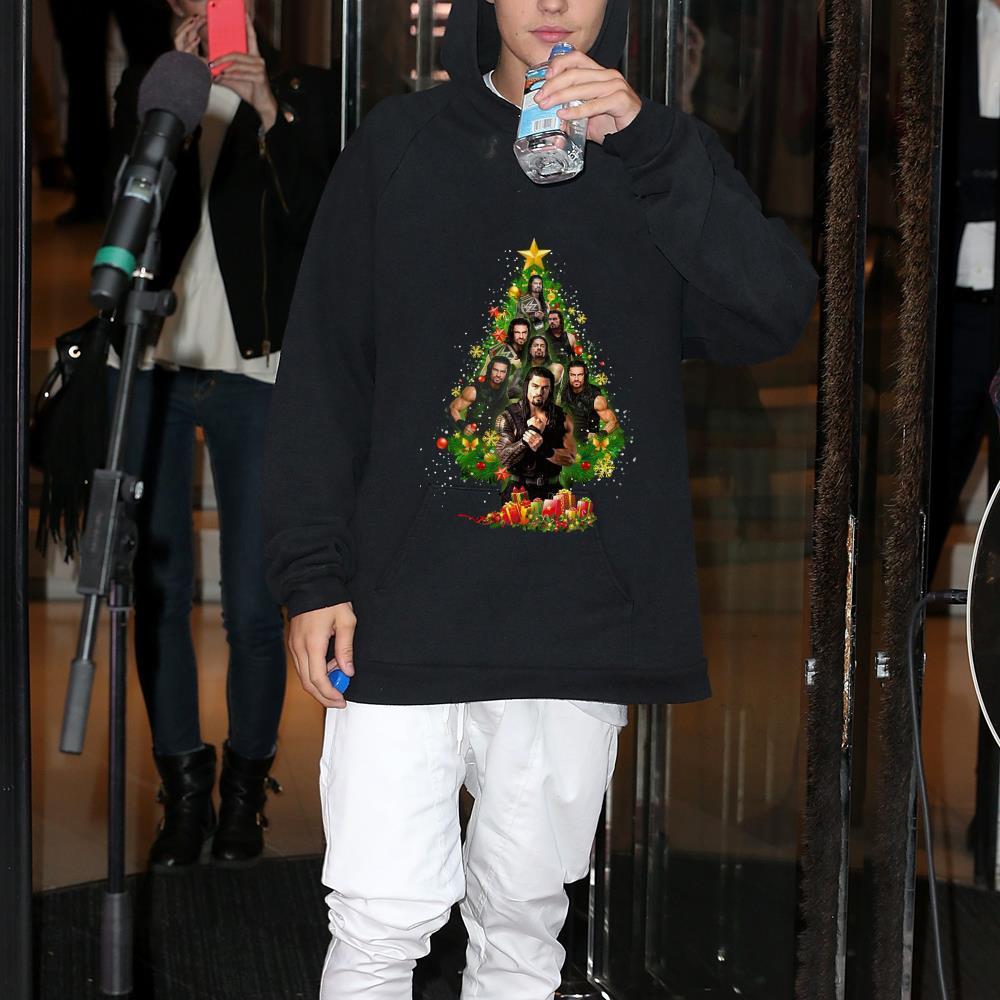 Roman Reigns Christmas Tree shirt 1