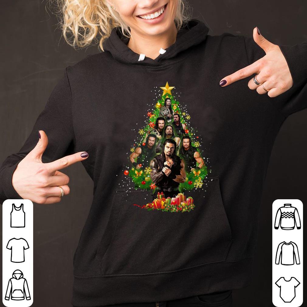 Roman Reigns Christmas Tree shirt 2