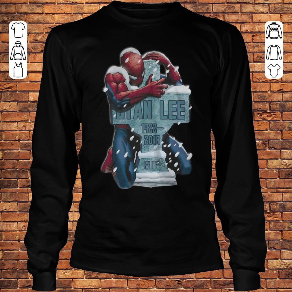 bda2dfe9 Spider Man hug grave Stan Lee shirt, hoodie, sweater, sweatshirt