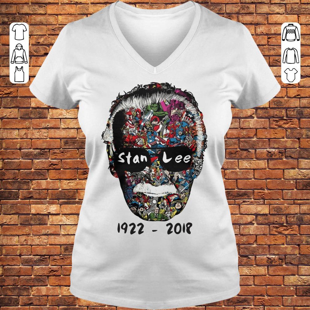 Stan Lee 1922 - 2018 Shirt Ladies V-Neck