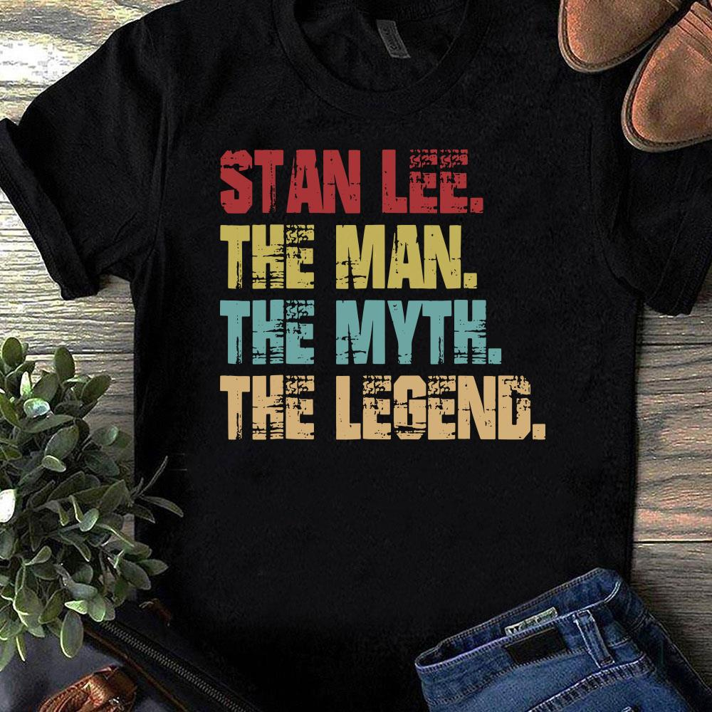 Stan Lee The Man The Myth The Legend shirt