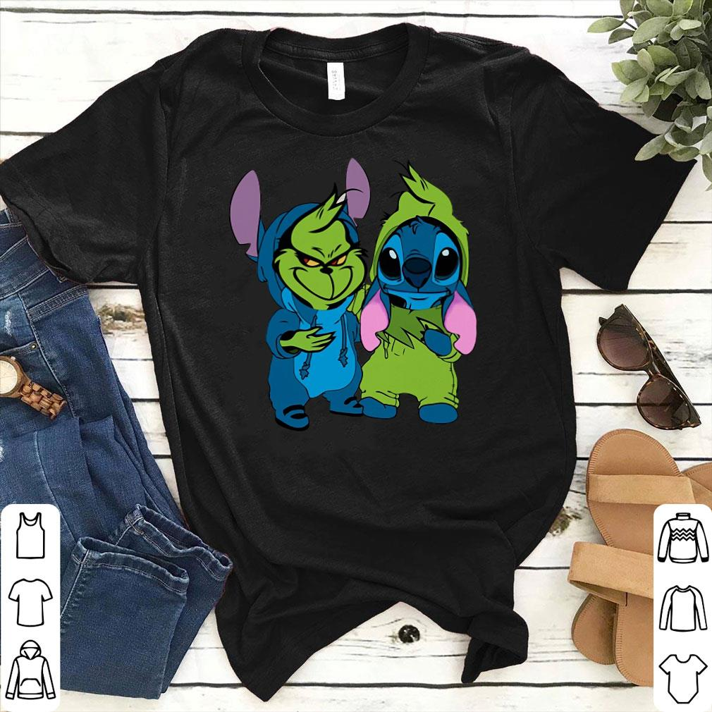 Stitch and Grinch shirt