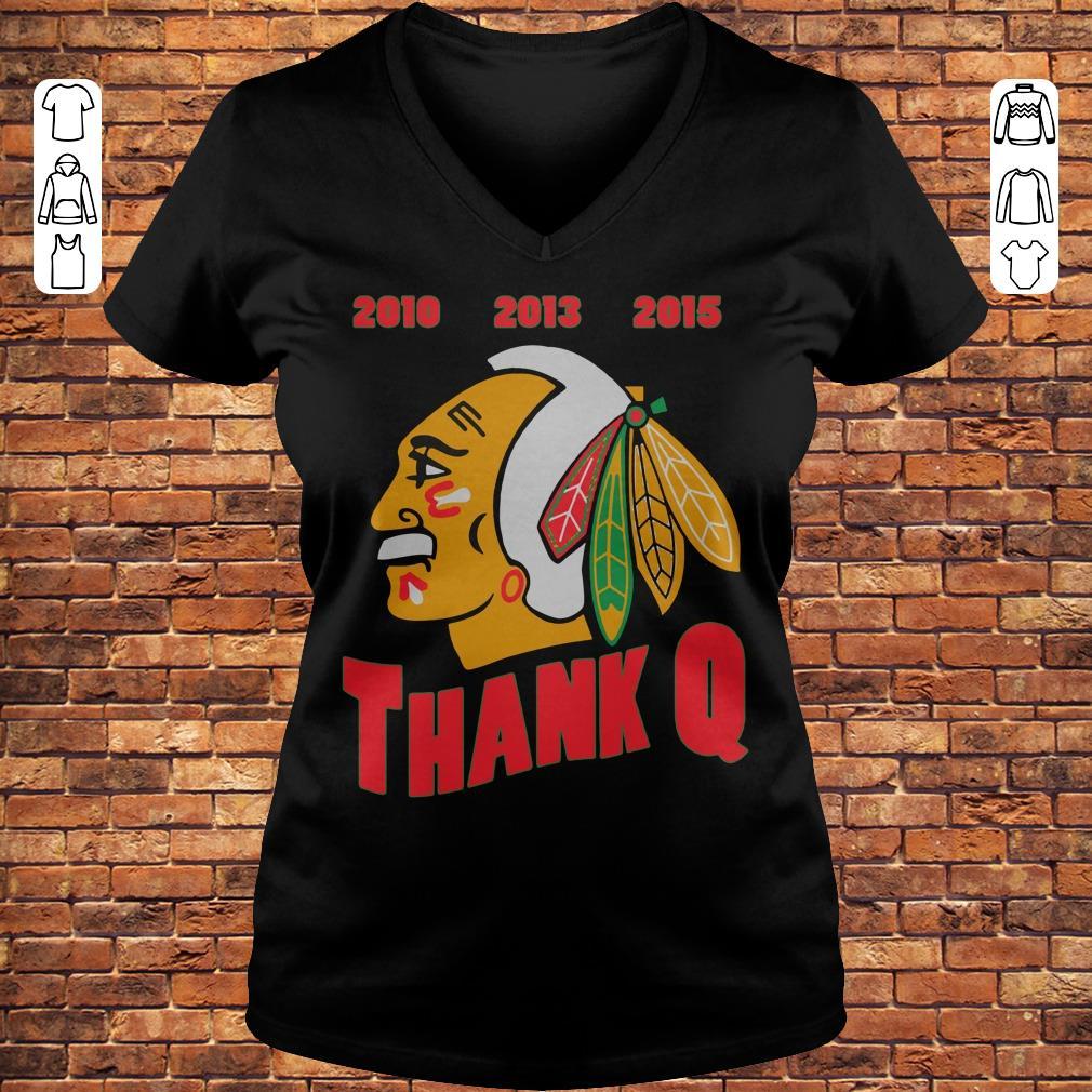 Thank you, Coach Q shirt Ladies V-Neck