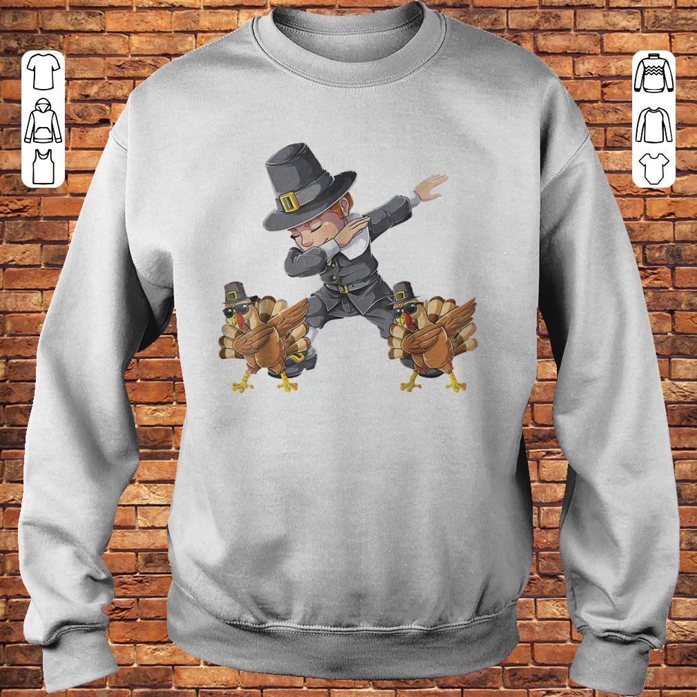 Thanksgiving Dabbing Boy Turkey Shirt