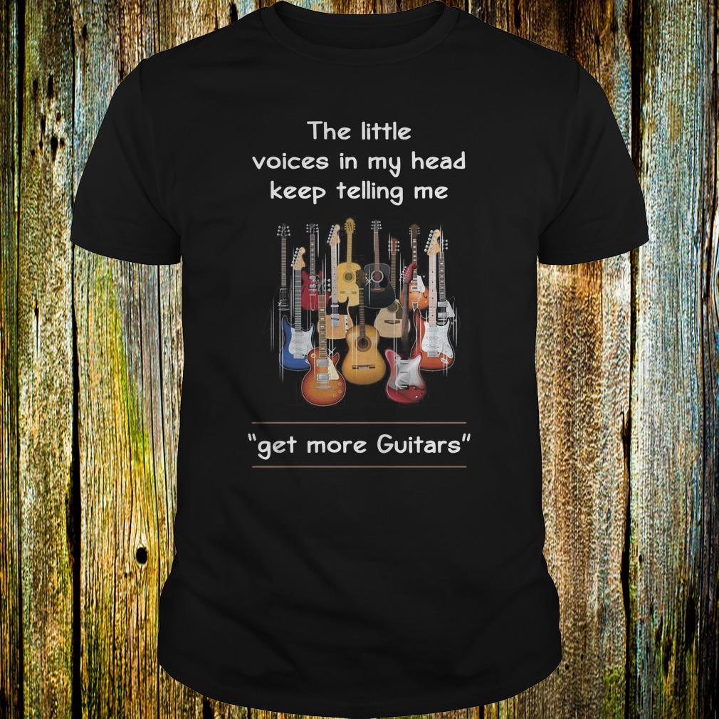 Top Get more Guitars shirt Classic Guys / Unisex Tee