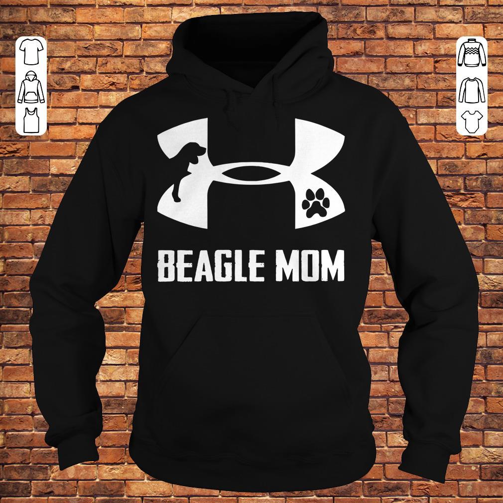 Under Armour Beagle Mom Shirt Hoodie