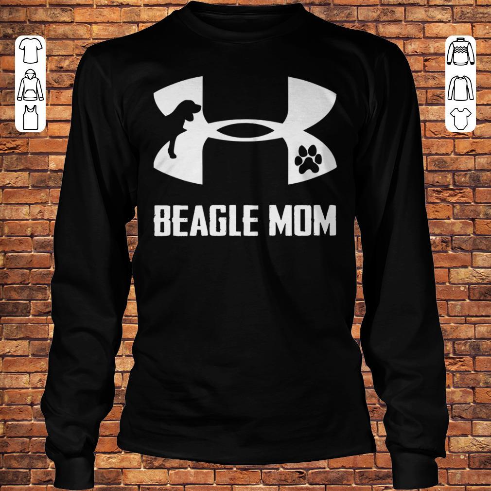 Under Armour Beagle Mom Shirt Longsleeve Tee Unisex