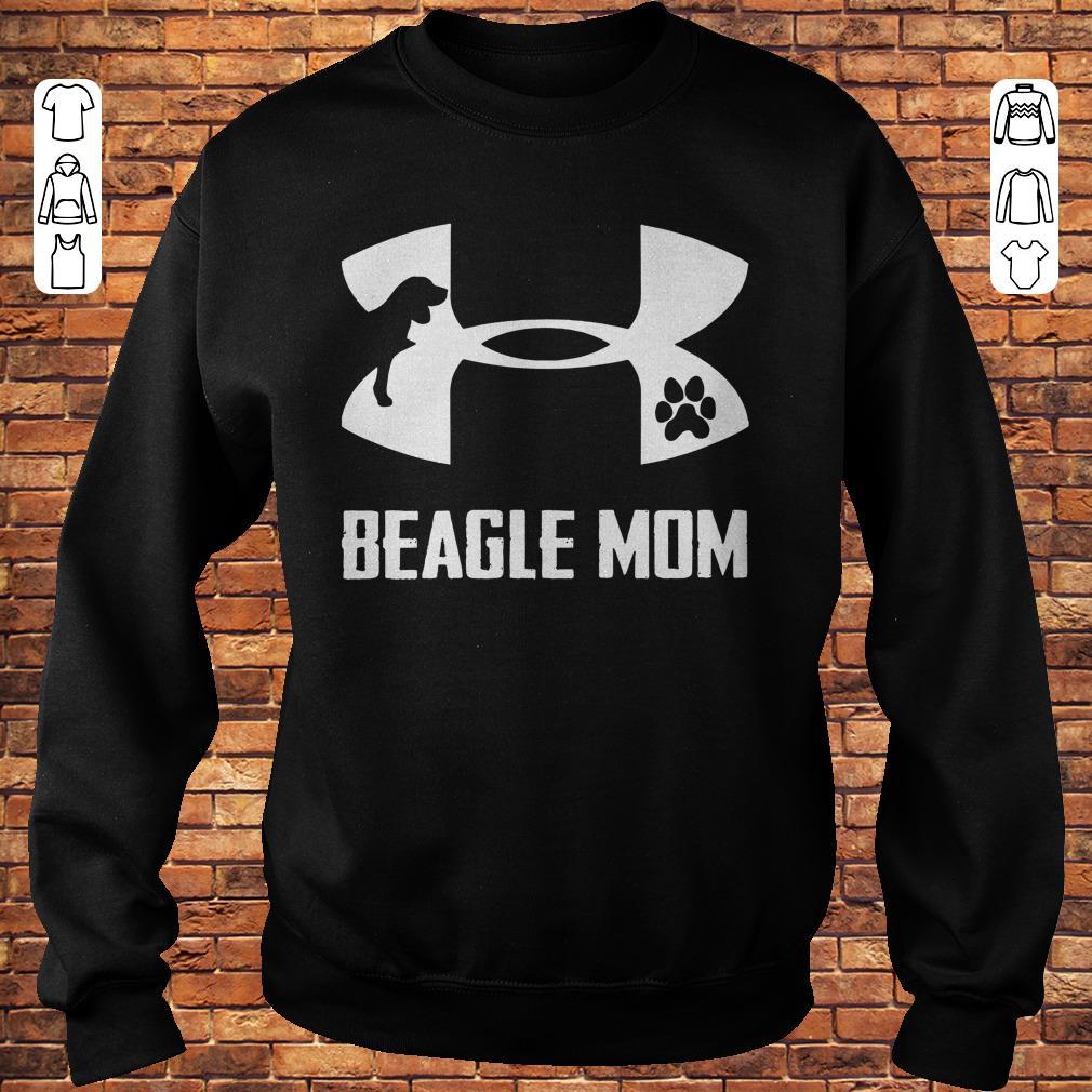 Under Armour Beagle Mom Shirt