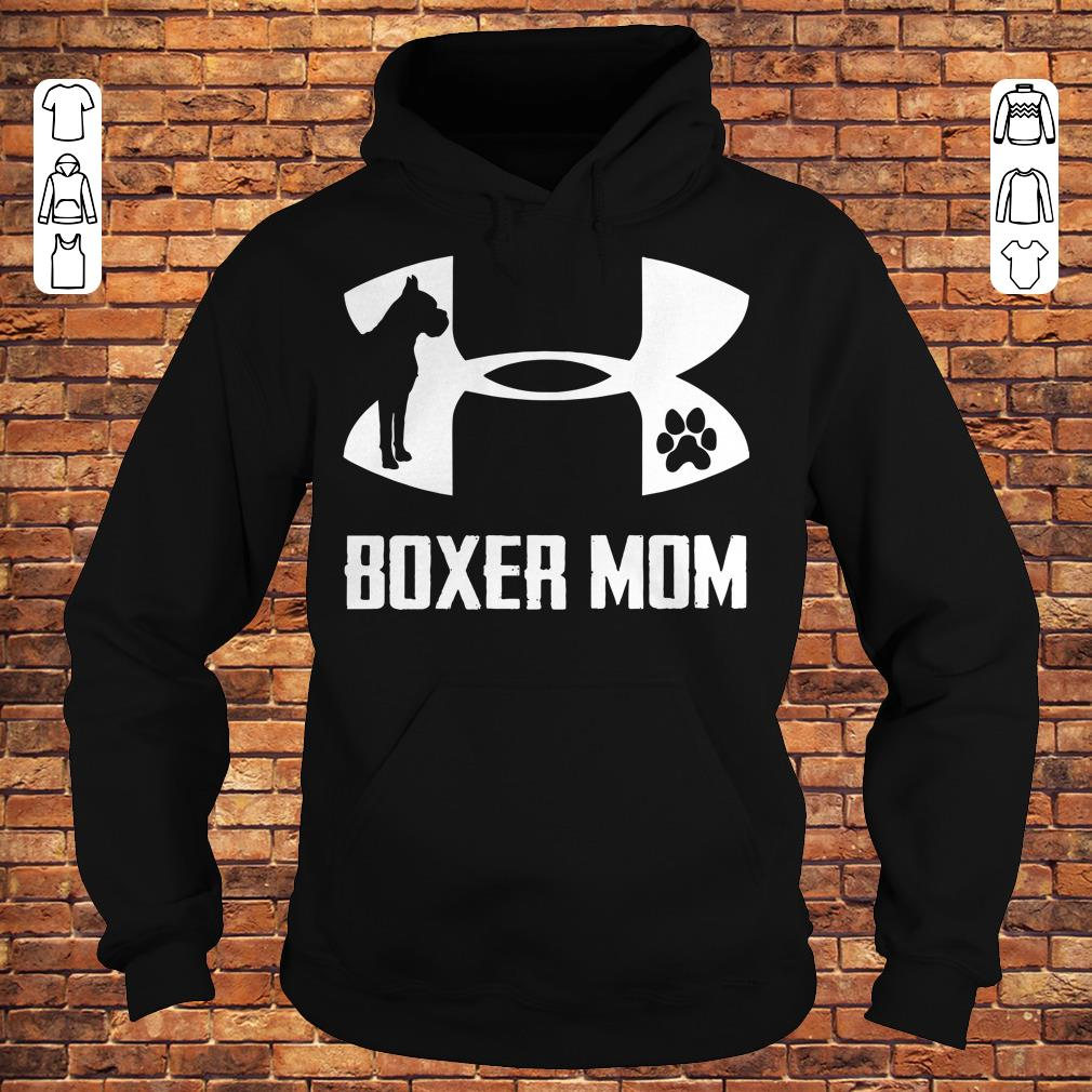 Under Armour Boxer Mom Shirt Hoodie