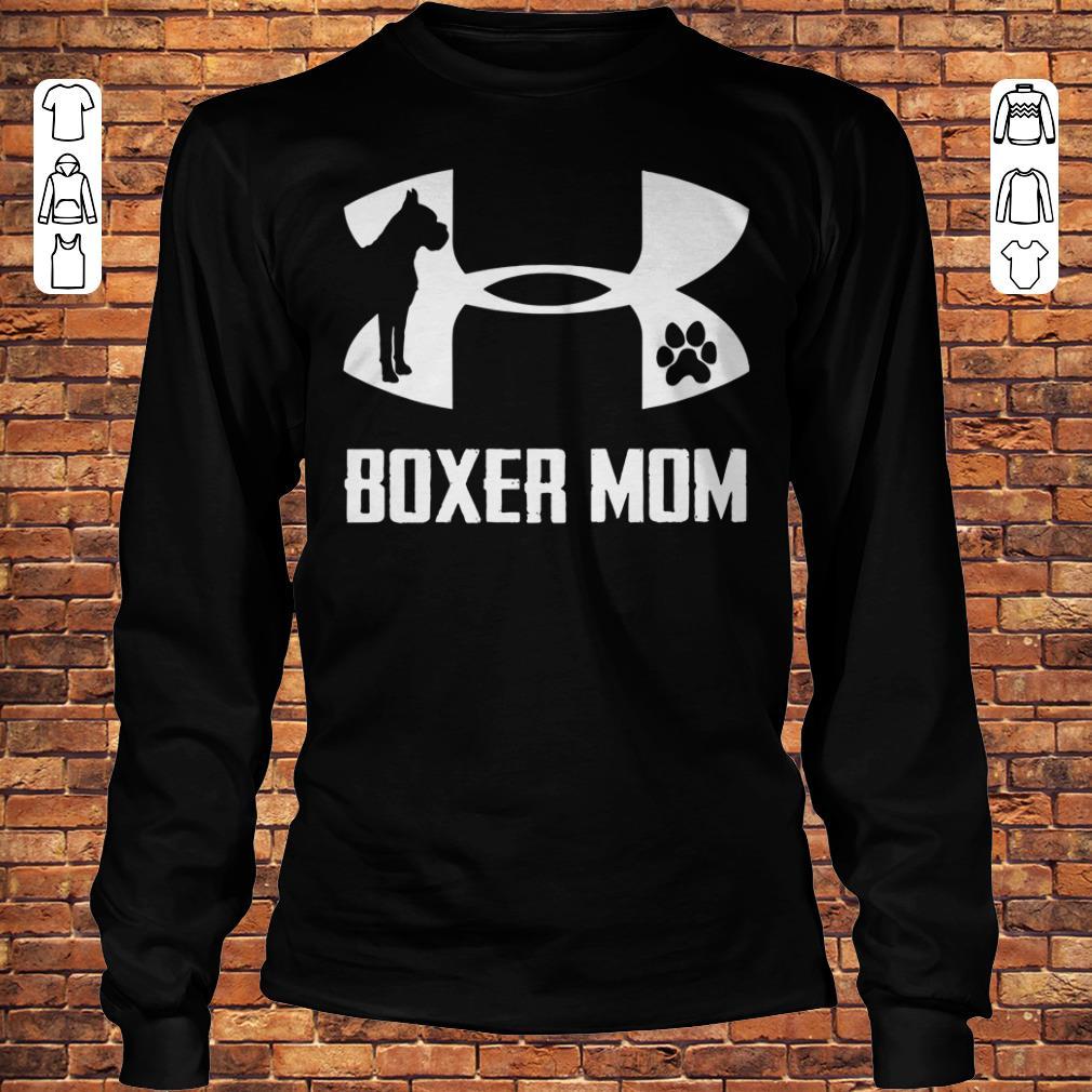 Under Armour Boxer Mom Shirt Longsleeve Tee Unisex