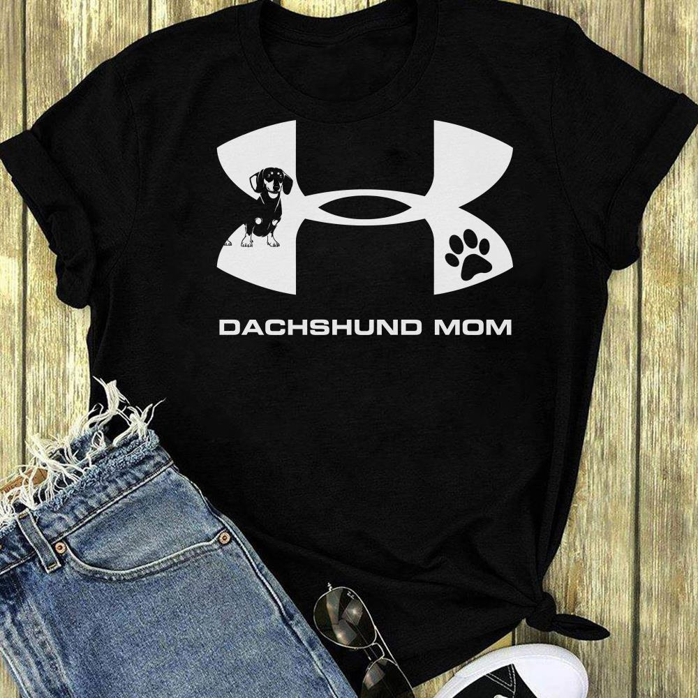Under Armour Dachshund Mom shirt