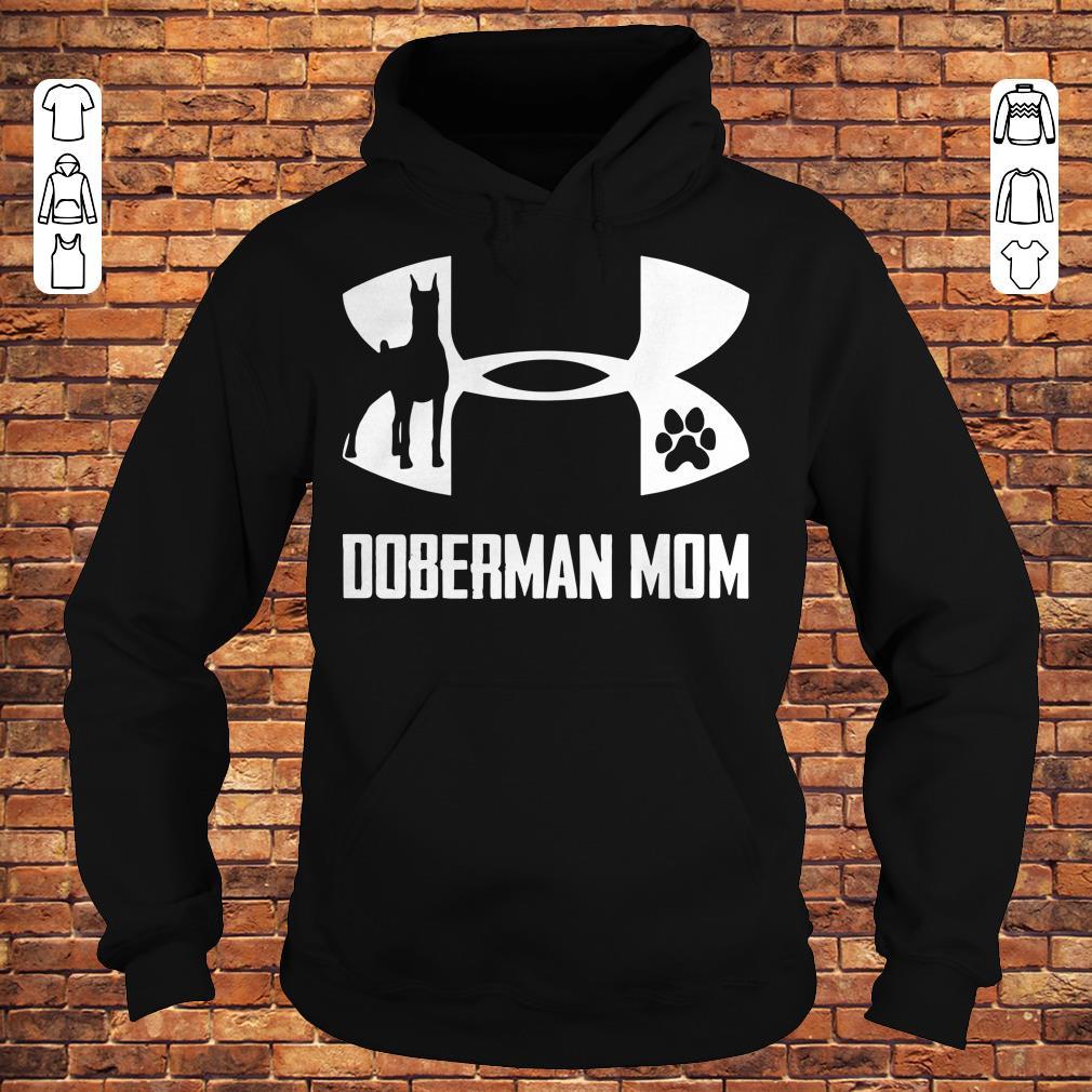 Under Armour Doberman Mom Shirt Hoodie