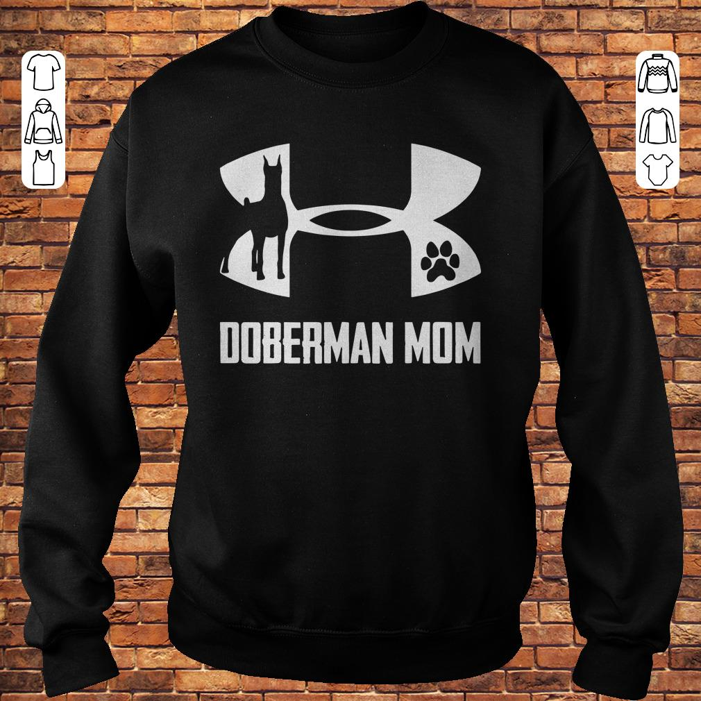 Under Armour Doberman Mom Shirt