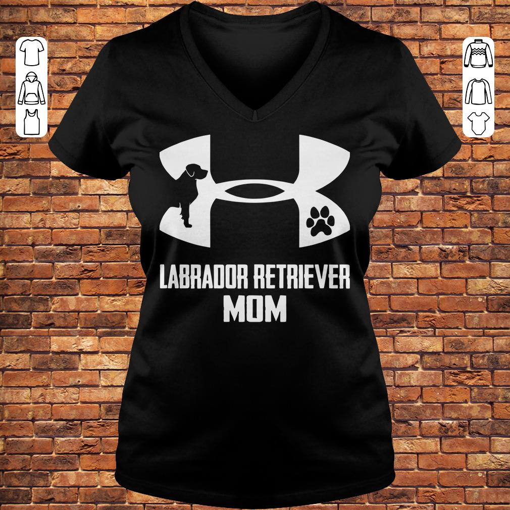 Under Armour Labrador retriever mom Shirt Ladies V-Neck