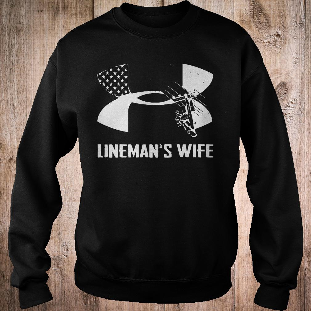 Under Armour Lineman's Wife shirt
