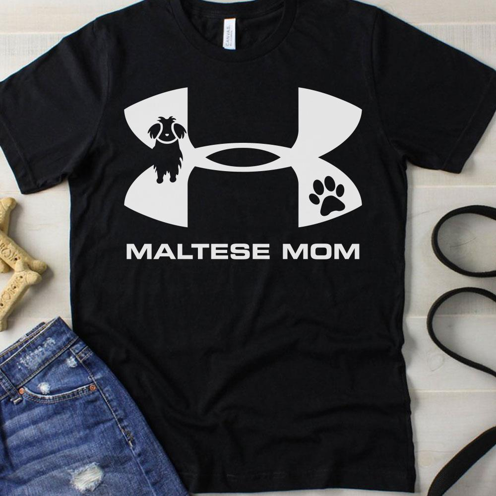 Under Armour Maltese Mom Shirt
