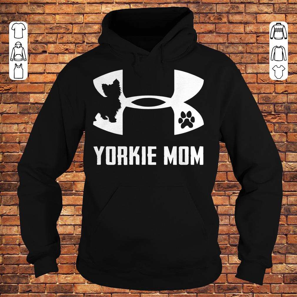 Under Armour Yorkie mom Shirt Hoodie