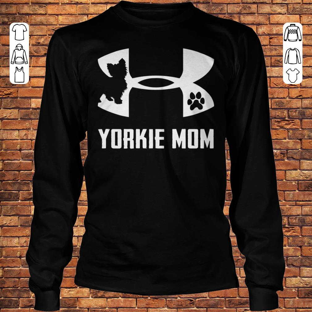Under Armour Yorkie mom Shirt Longsleeve Tee Unisex