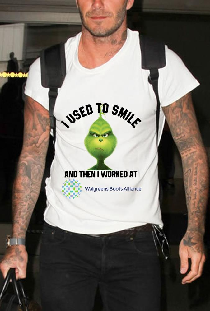 Walgreens Boots Alliance Grinch I used to smile and then I worked at Walgreens Boots Alliance shirt 1