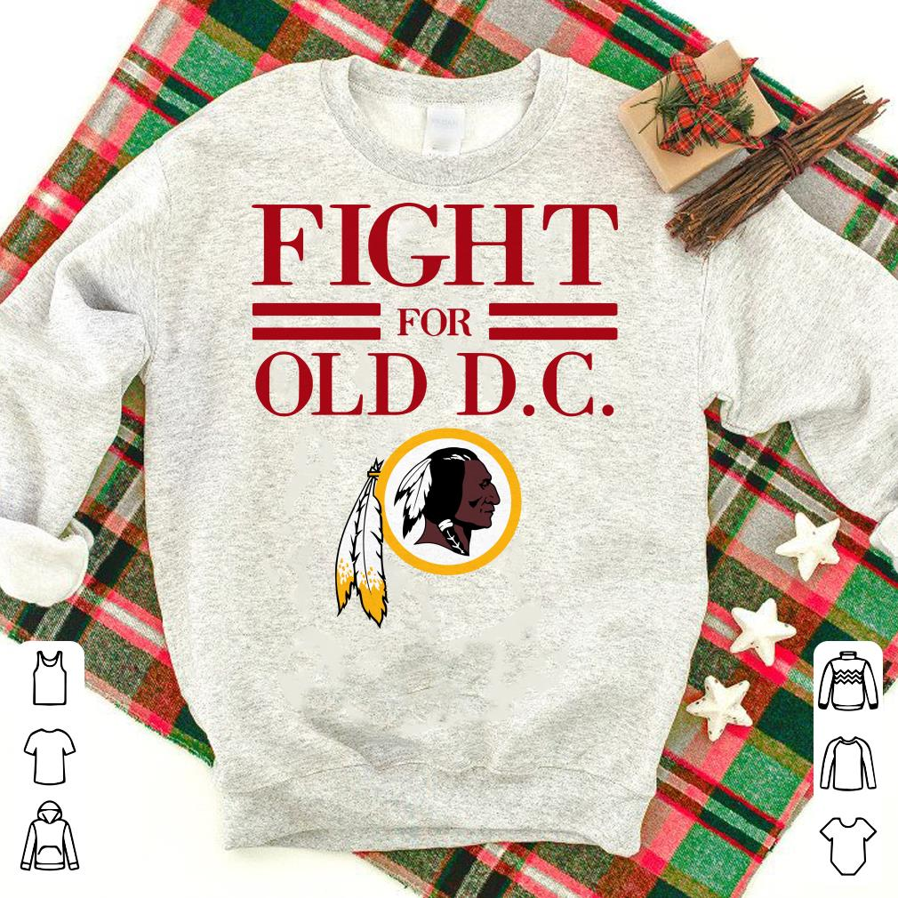 Washington Redskins fight for old DC shirt