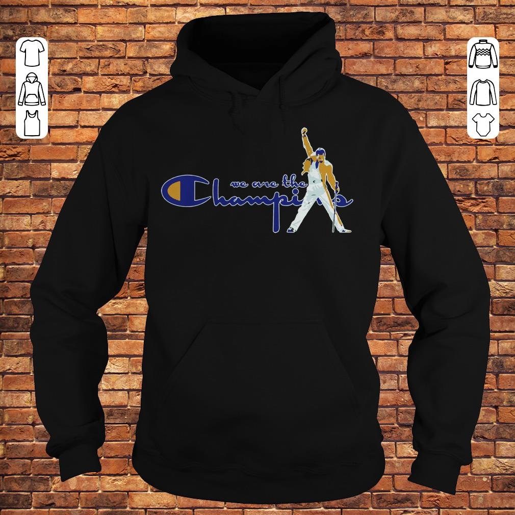 91291c72 We are the champions Freddie Mercury shirt, hoodie, sweater ...
