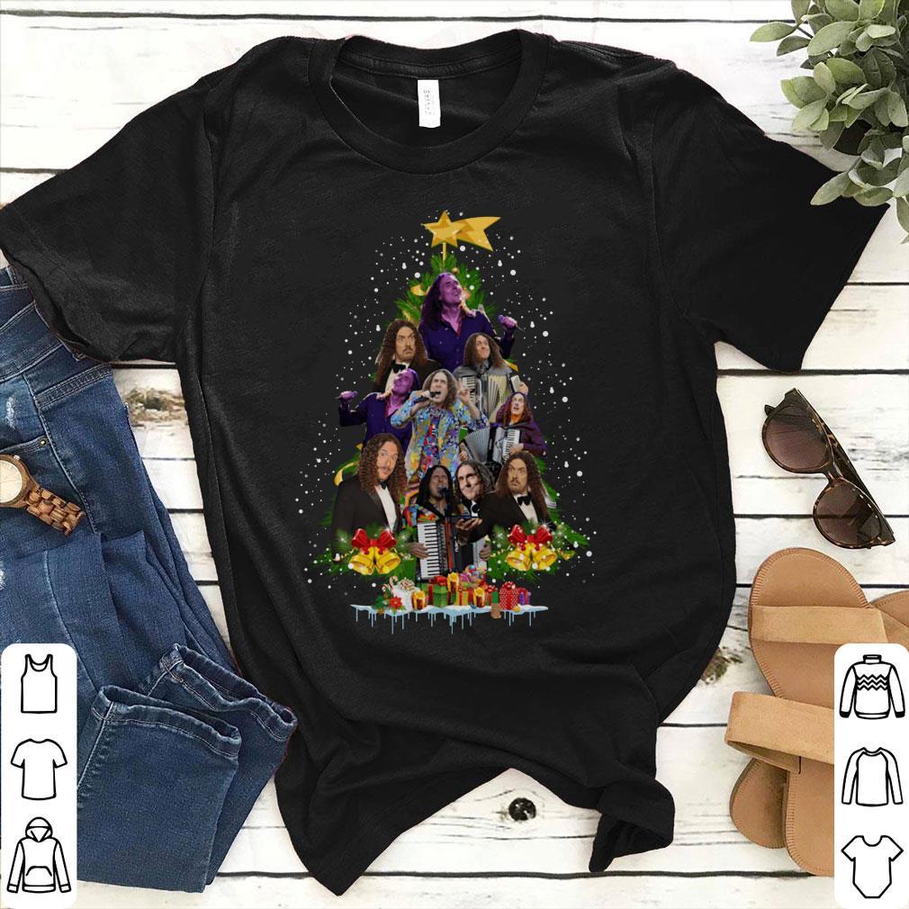 Weird Al Yankovic Christmas tree shirt