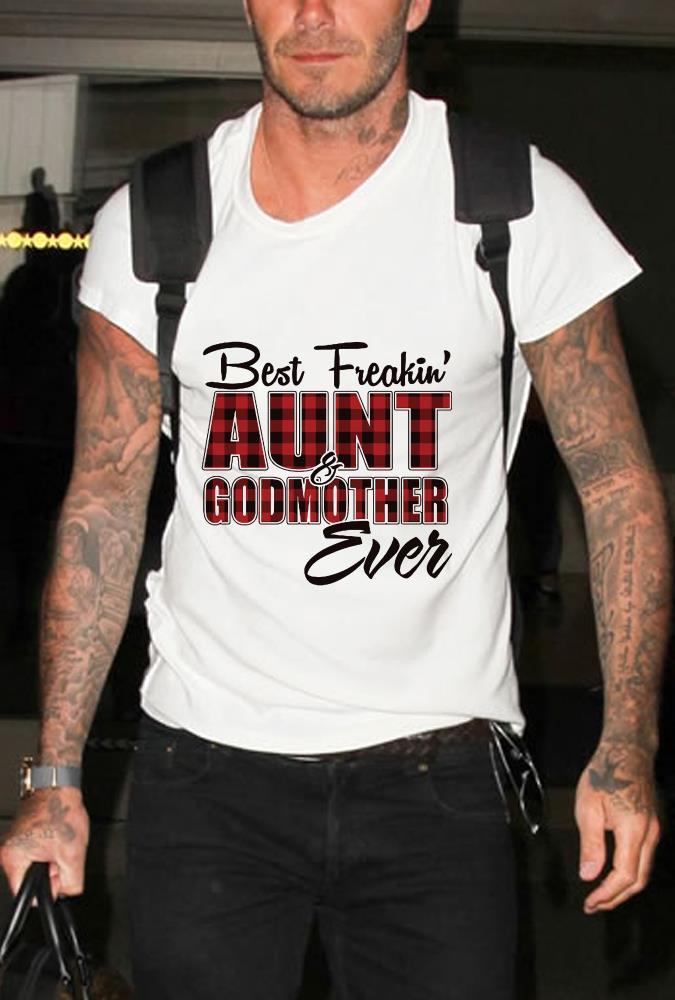 Best freakin Aunt Godmother Shirt 1