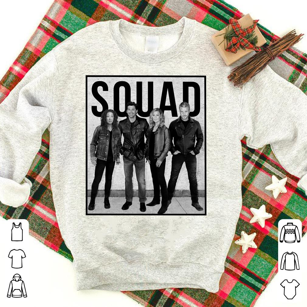 Callie Derek Meredith Alex Grey's Anatomy Squad Shirt