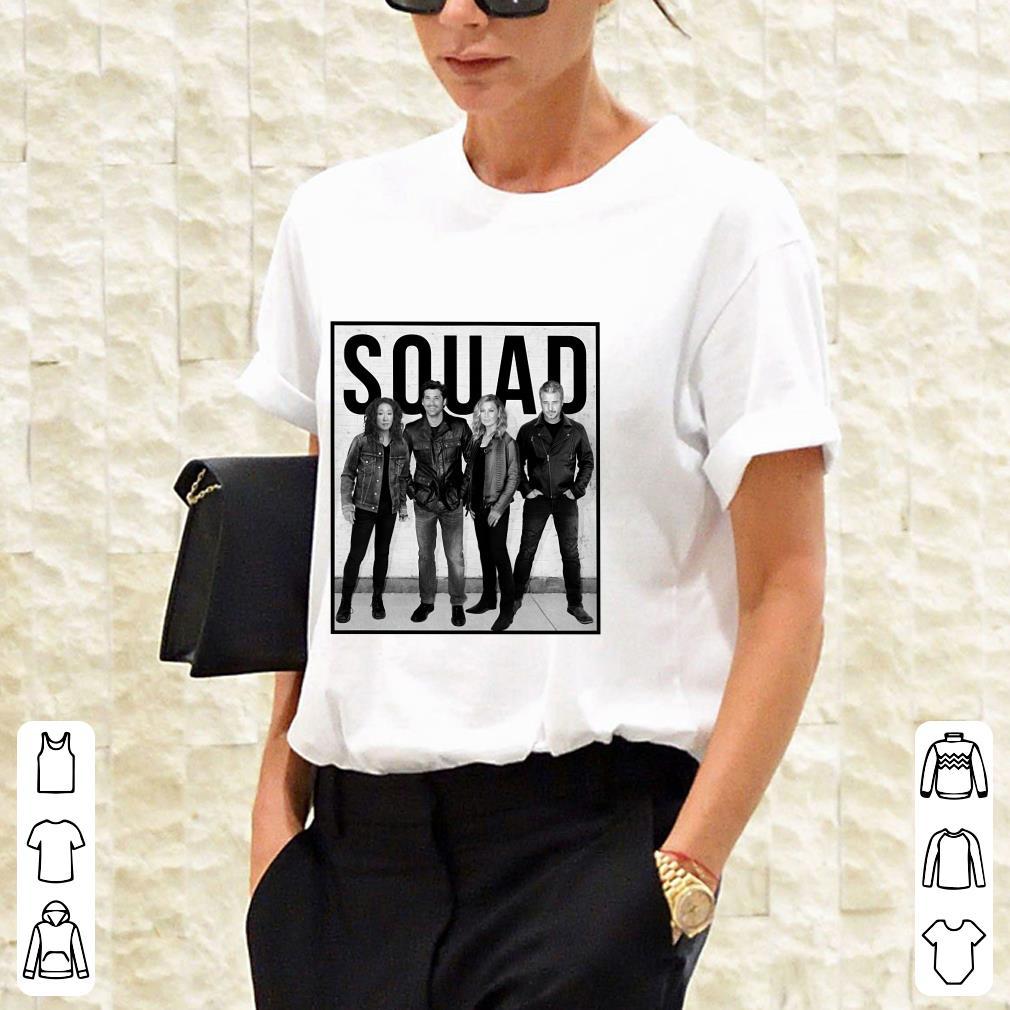 Callie Derek Meredith Alex Grey's Anatomy Squad Shirt 2