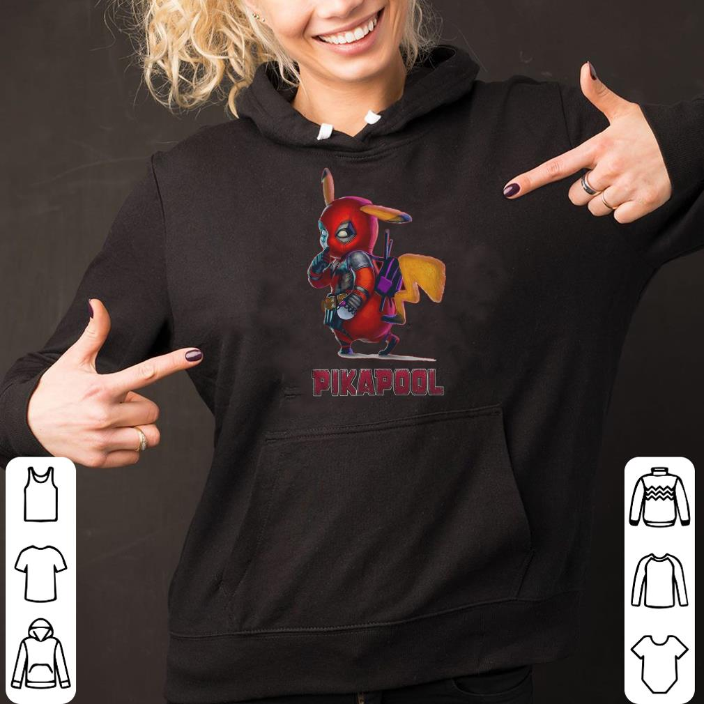 Deadpool pikachu fusion Pokemon ash marvel shirt 2
