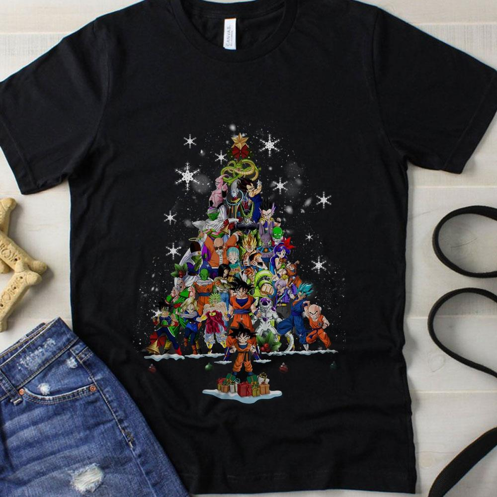 Dragon ball Christmas Tree shirt