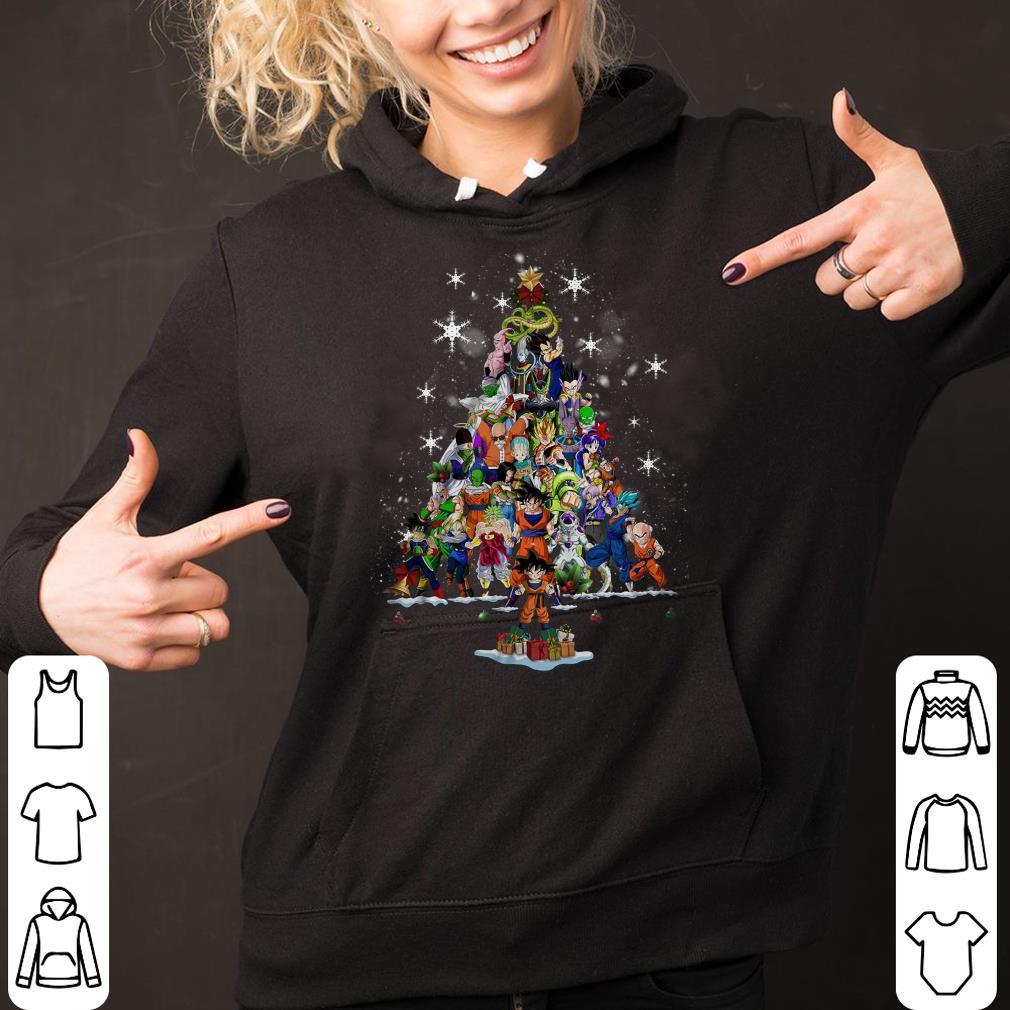 Dragon ball Christmas Tree shirt