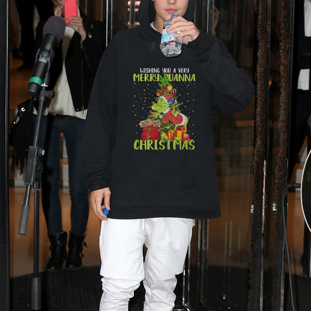 Grinch Wishing You Merry Quana Christmas shirt
