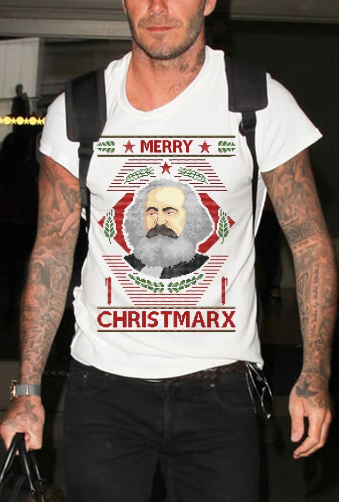 Karl Marx Merry christmarx sweater shirt
