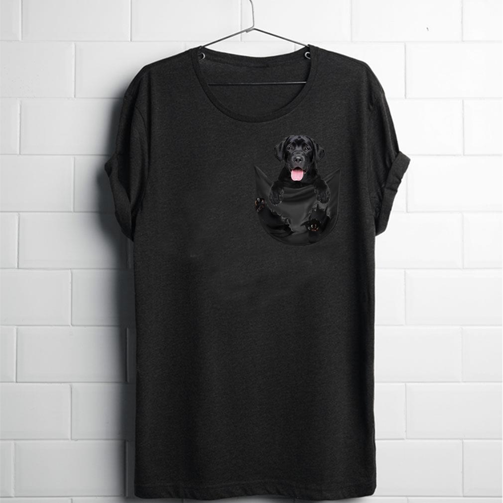 Labrador inside pocket shirt