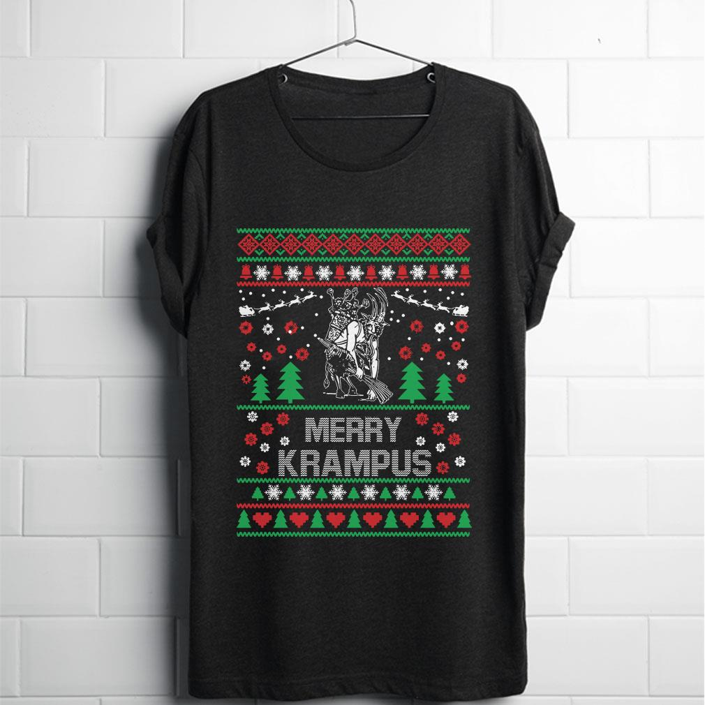 Merry christmas Krampus Sweater shirt 1