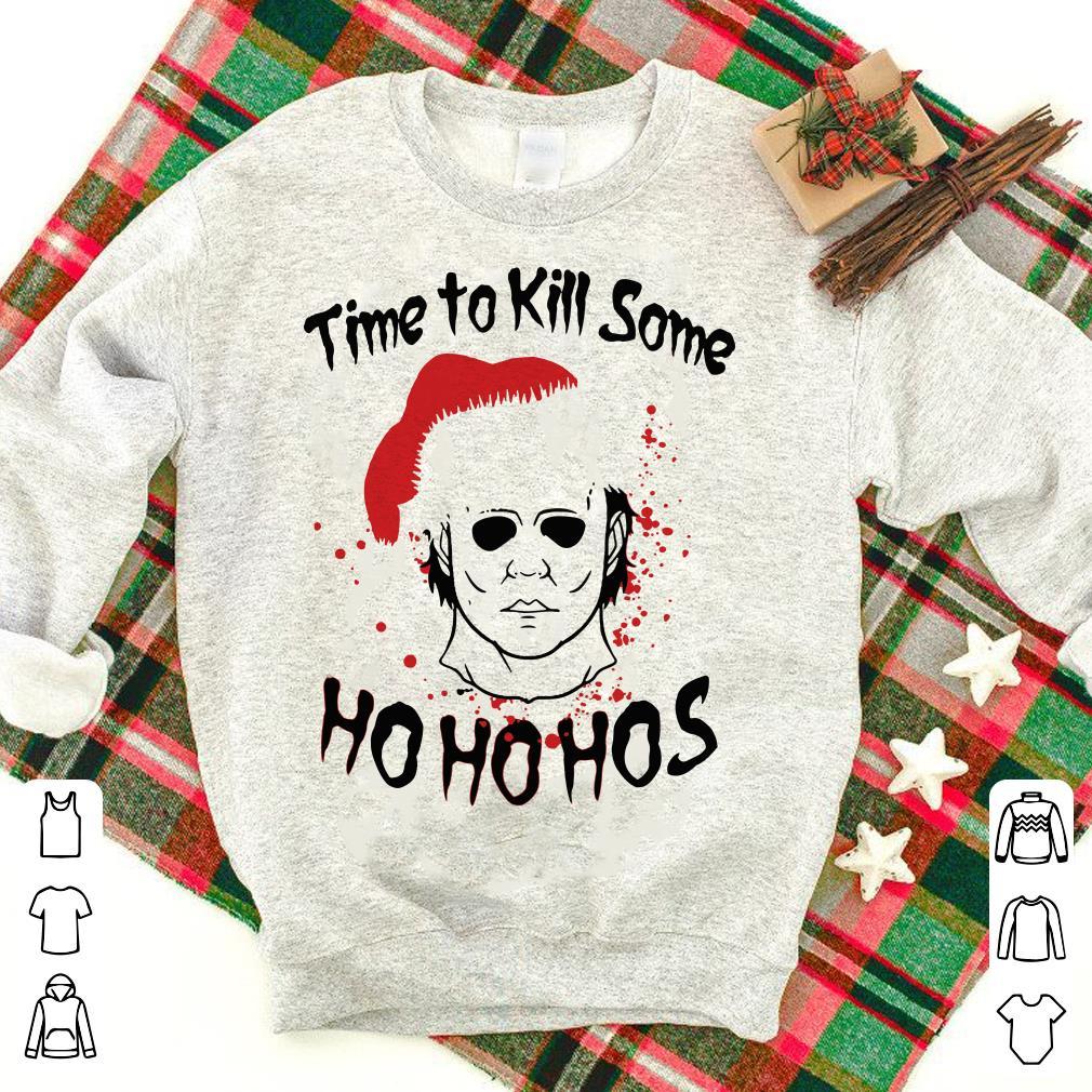 Michael Myer Santa Christmas Time to kill some shirt
