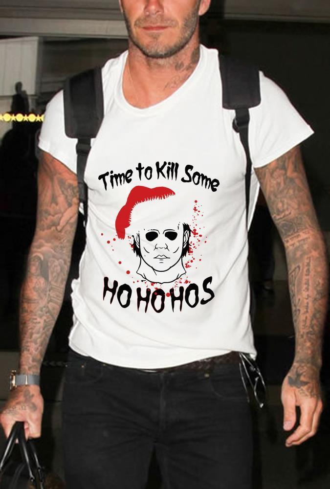 Michael Myer Santa Christmas Time to kill some shirt 1