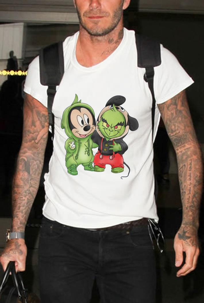Mickey Mouse and Grinch shirt 2