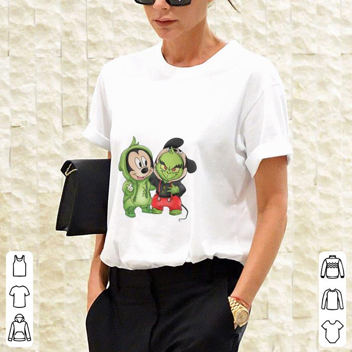 Mickey Mouse and Grinch shirt 3
