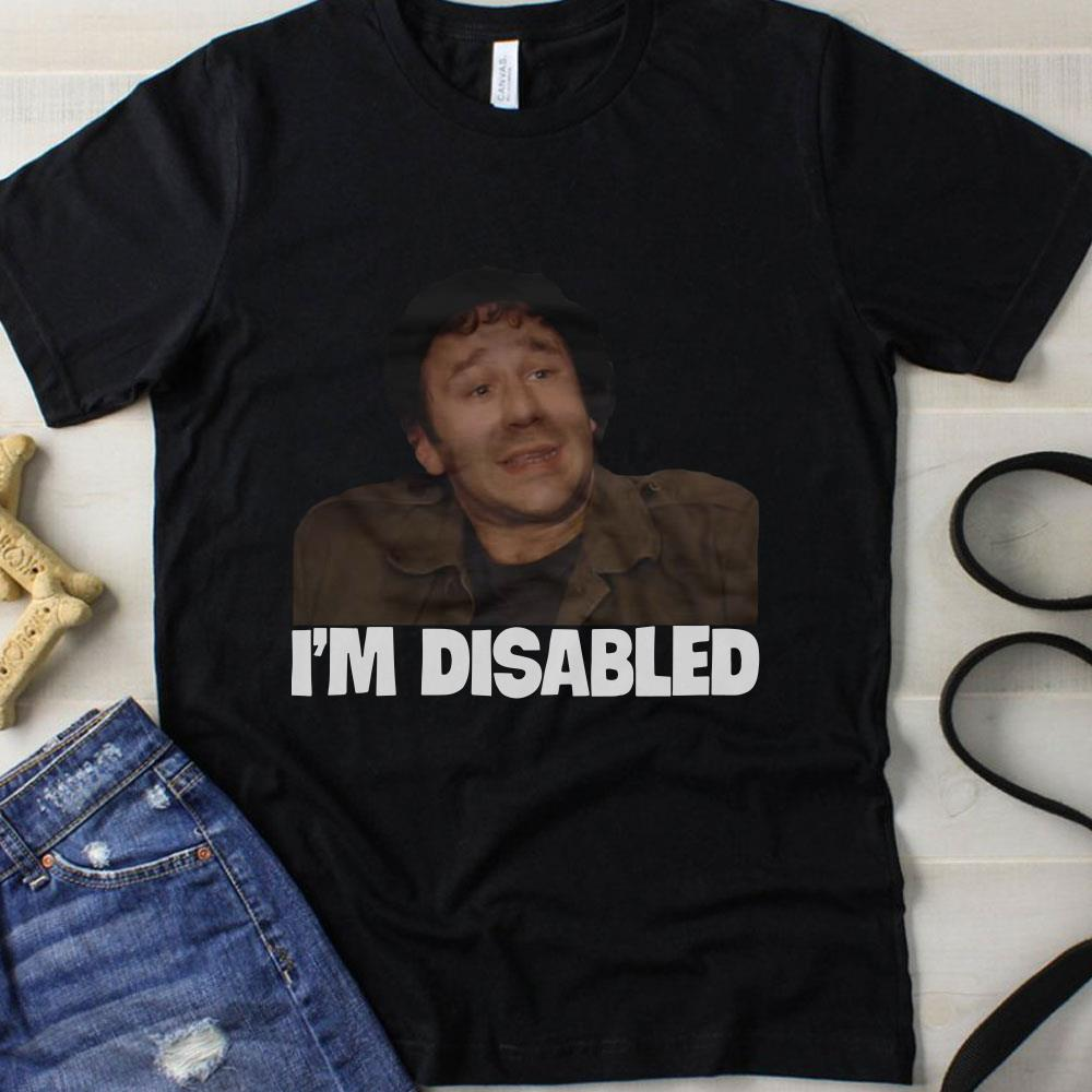 Roy The IT Crowd I'm Disabled shirt