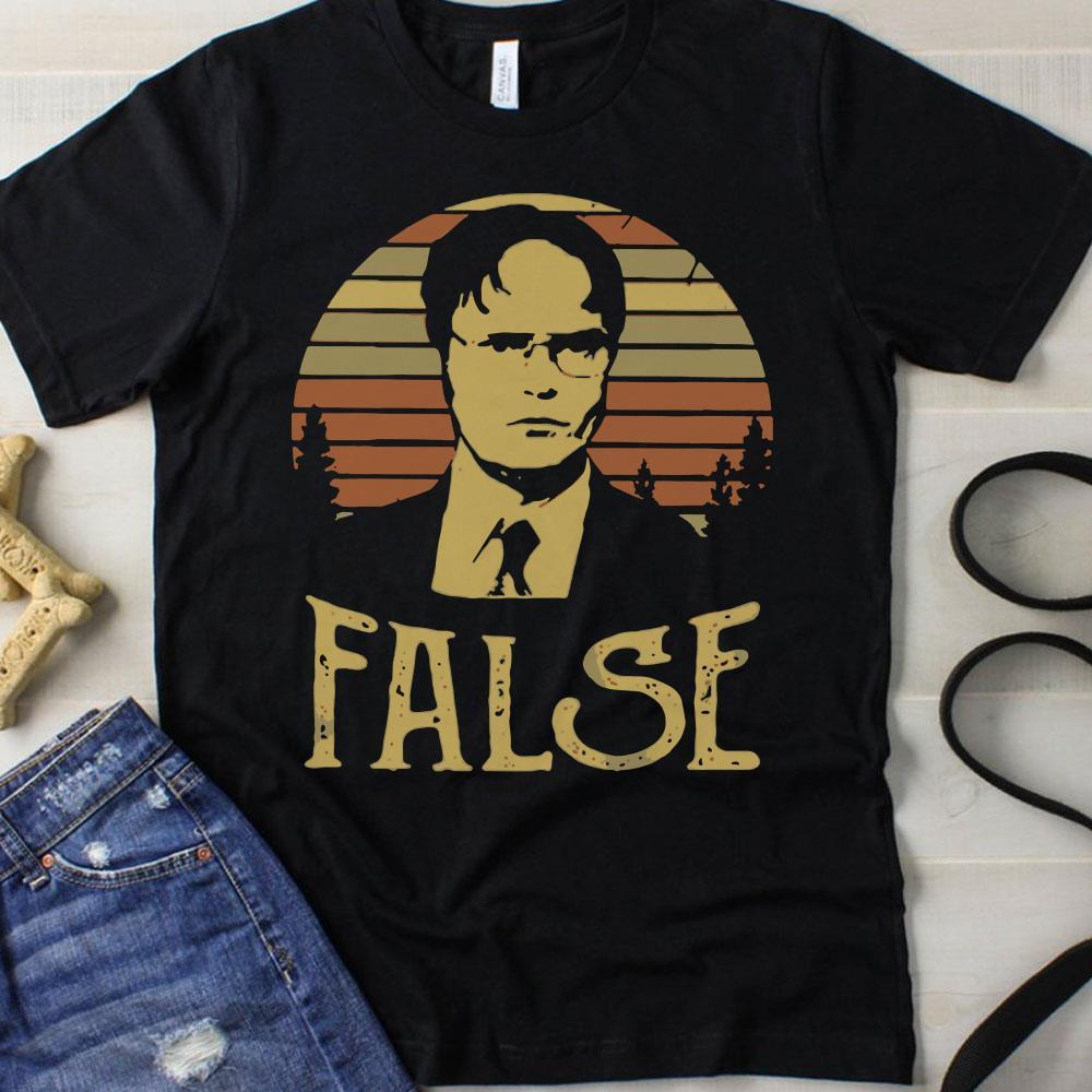 The Sunset Retro Dwight Schrute False shirt