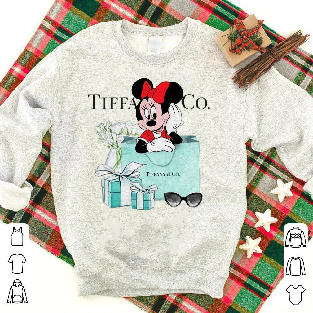 Tiffany & CO Minnie Mouse Disney shirt