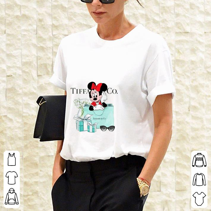 Tiffany & CO Minnie Mouse Disney shirt 3