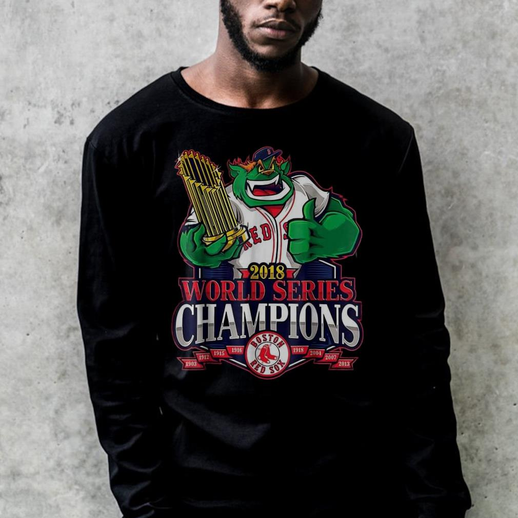 9d75711baa3 World Series Champions Damage Done Boston Red Sox 2018 shirt