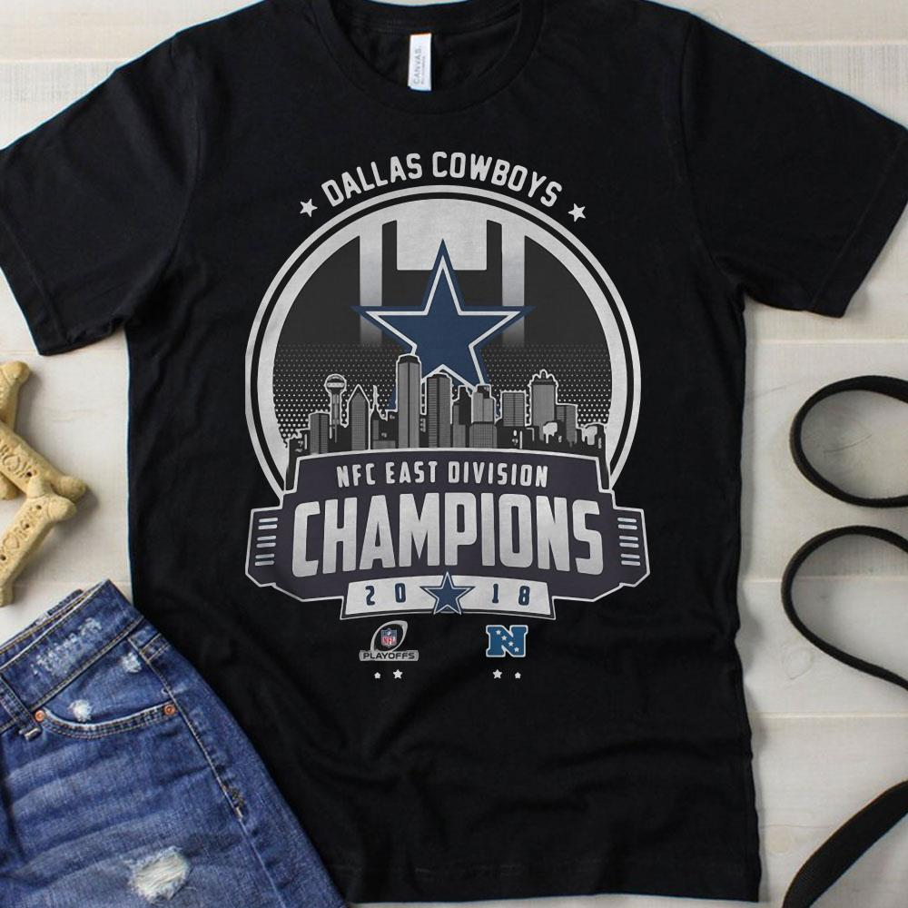 Dallas Cowboys Champions 2018 NFC East Division shirt