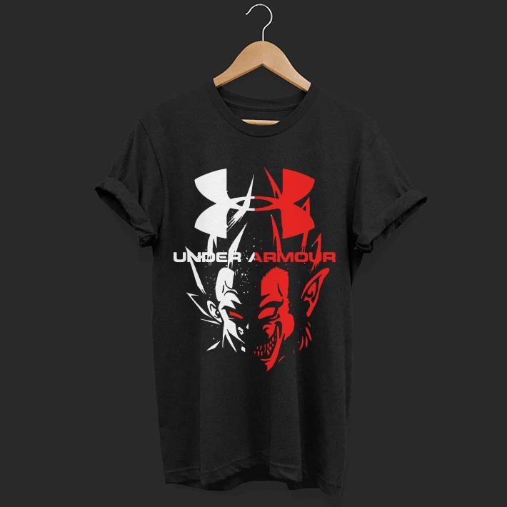 Dragon Ball Vegeta Under Armour shirt
